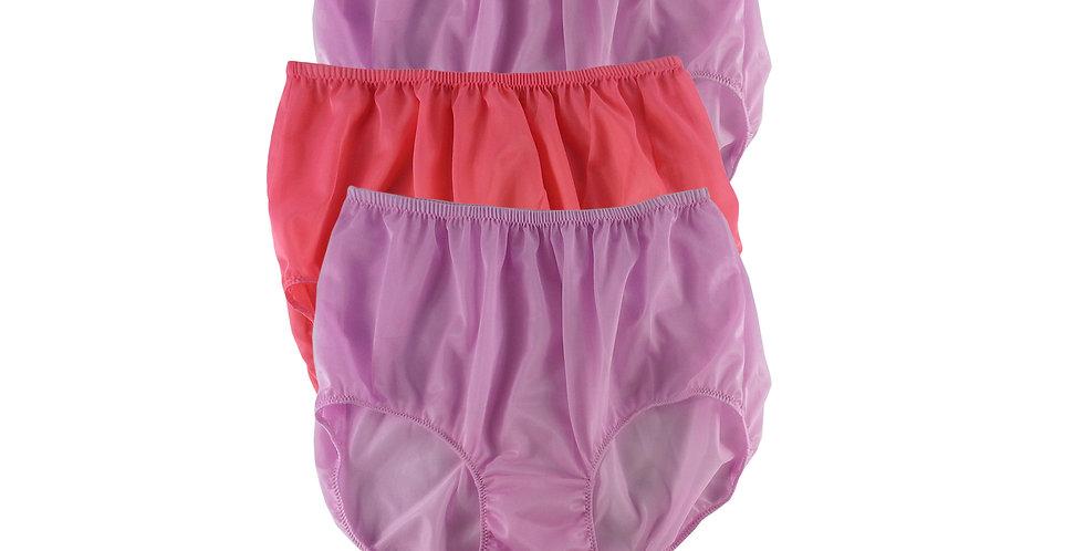 A148 Lots 3 pcs Wholesale Women New Panties Granny Briefs Nylon Knickers
