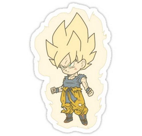 SRBB0543 Goku Dragon Ball Z  anime sticker