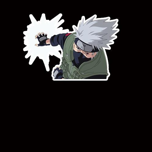 NOR299 Kakashi Hatake Naruto Peeking anime sticker Car Decal Vinyl Window