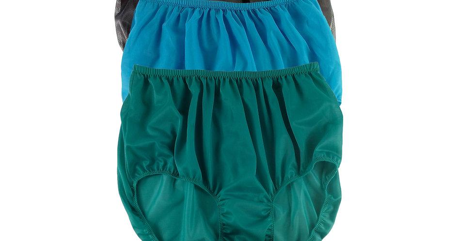 A68 Lots 3 pcs Wholesale Women New Panties Granny Briefs Nylon Knickers