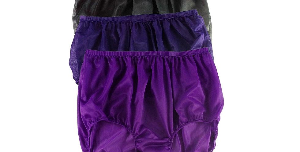 A5 Lots 3 pcs Wholesale Women New Panties Granny Briefs Nylon Knickers