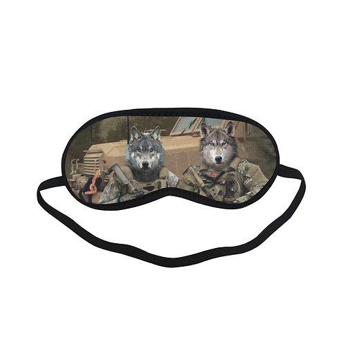 ATEM284 wolf pack Eye Printed Sleeping Mask