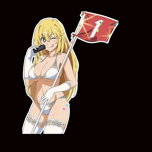 Anime Sticker Car Window Decal ARBB257 Certain Magical Index Shokuhou Misaki