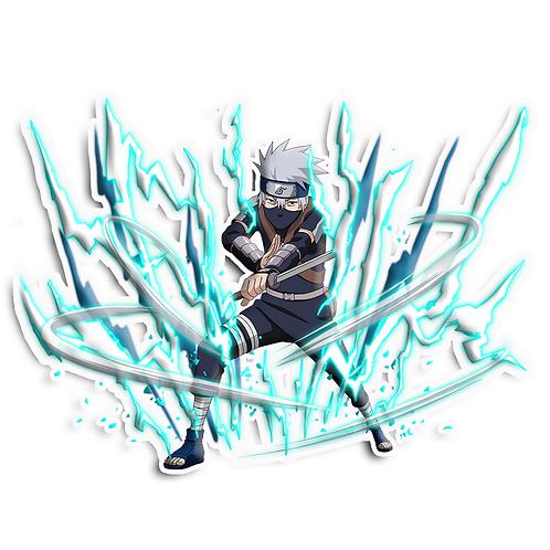 NRT122 Hatake Kakashi Copy Ninja Shinobi Naruto anime sti