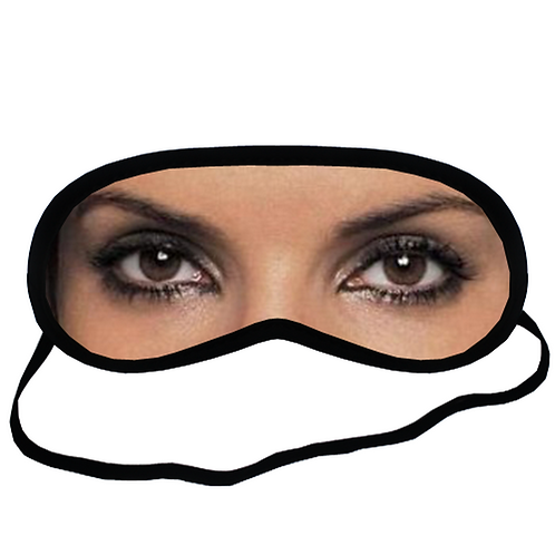 EYM498 SANDRA BULLOCK Eye Printed Sleeping Mask