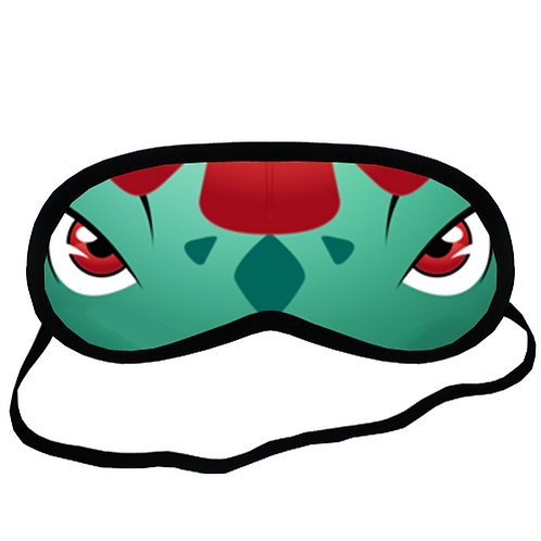 EYM143 Venusaur Pokemon Go Eye Printed Sleeping Mask