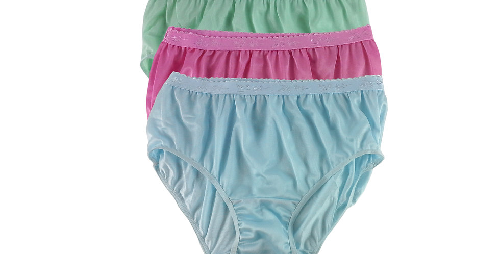CKTK16 Lots 3 pcs Wholesale New Nylon Panties Women Undies Briefs