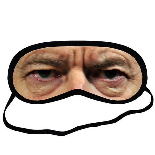 EYM962 Arsene Wenger Eye Printed Sleeping Mask