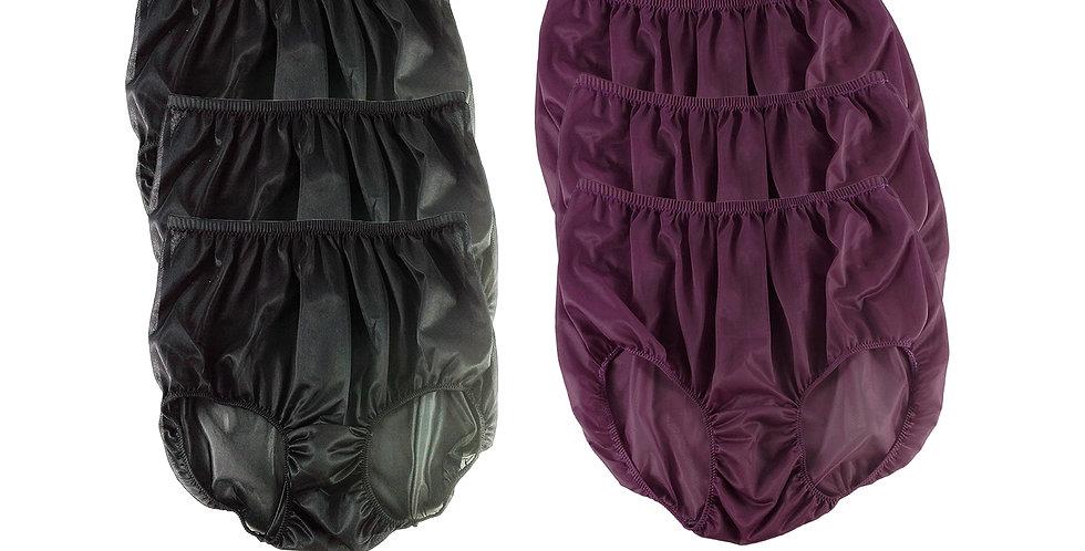 NSD09Lots 6 pcs Wholesale Women New Panties Granny Briefs Nylon Lingerie