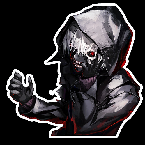 Anime Sticker Car Bumper Truck Window Helmet Laptop Phone Decal TG56 Tokyo Ghoul