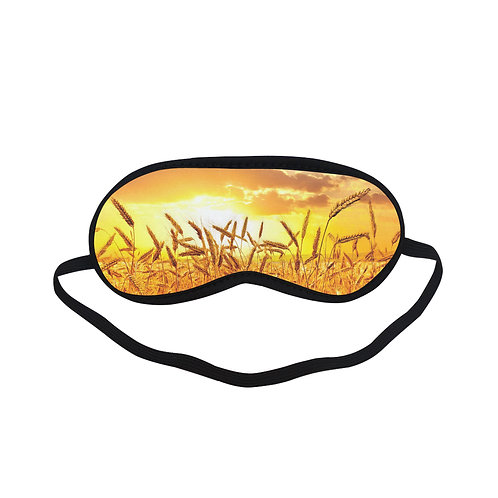 PTEM201 Rice plant Art Sun Eye Printed Sleeping Mask