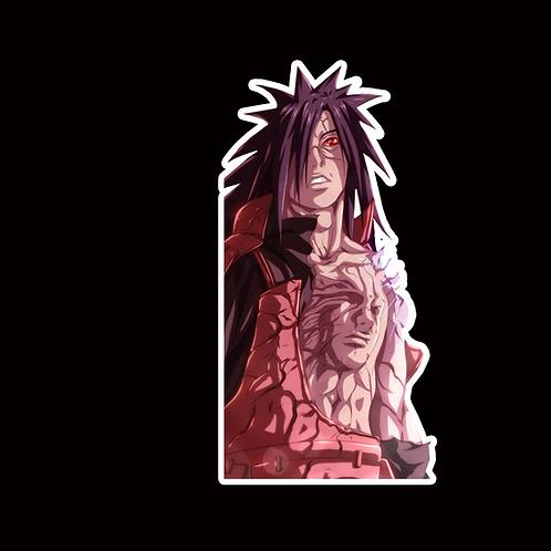 NOR368 Madara uchiha Naruto Peeking anime sticker Car Decal Vinyl Window