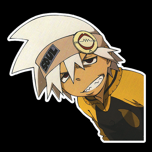 Peeker Anime Peeking Sticker Car Window Decal PK357 Soul Eater Evans