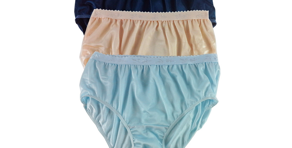 CKTK03 Lots 3 pcs Wholesale New Nylon Panties Women Undies Briefs