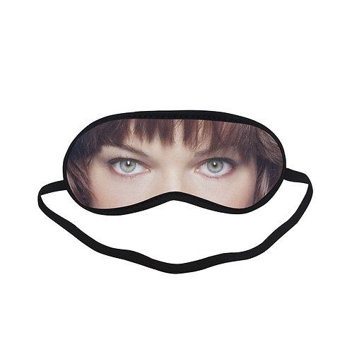JTEM349 Milla Jovovich Eye Printed Sleeping Mask