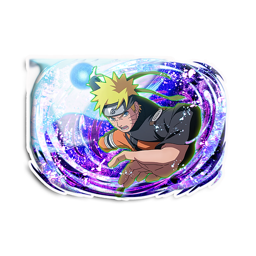 NRT521 Uzumaki Naruto 7th hokage Naruto anime sticker Car Decal