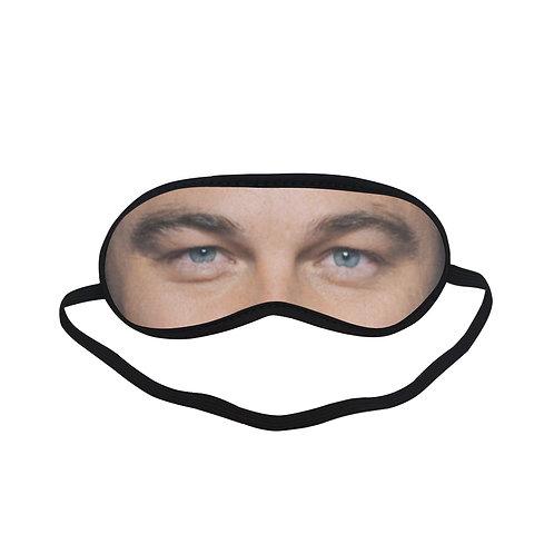 JTEM297 Leonardo Dicaprio Eye Printed Sleeping Mask