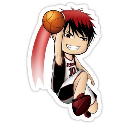 SRBB0685 Kuroko no Basket anime sticker