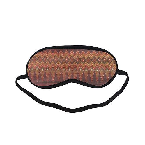 PTEM593 Silk Pattern Eye Printed Sleeping Mas