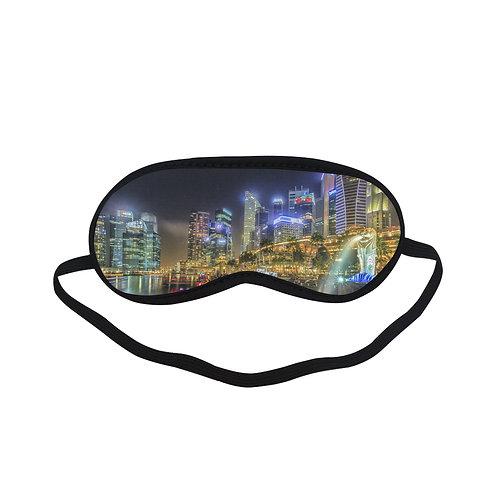PTEM324 Light Town Design Eye Printed Sleeping Mas