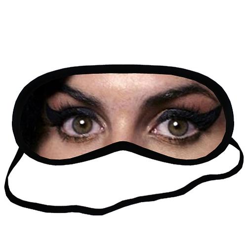 EYM189 Amy Winehouse Eye Printed Sleeping Mask