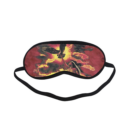ATEM248 gift of the eagle feather Eye Printed Sleeping Mask