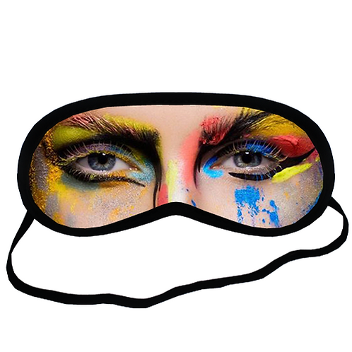 EYM1728 ART MAKEUP Eye Printed Sleeping Mask