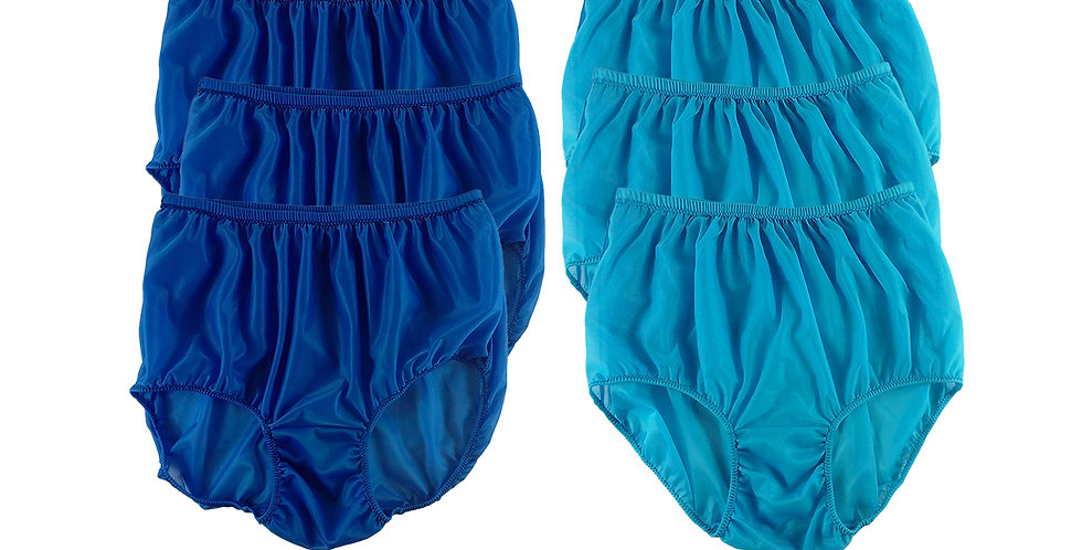 NSD106Lots 6 pcs Wholesale Women New Panties Granny Briefs Nylon Lingerie