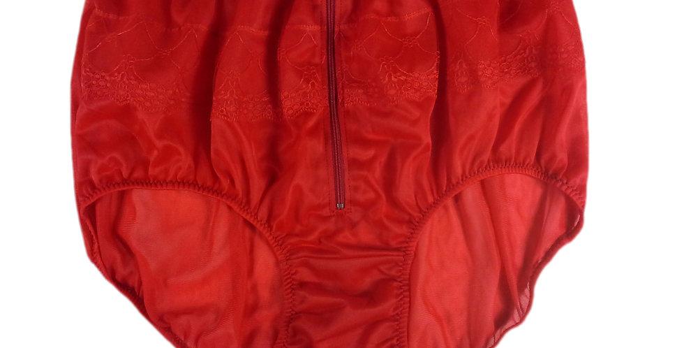 JYH03D08 Red Handmade Nylon Panties Women Men Lace Knickers Briefs