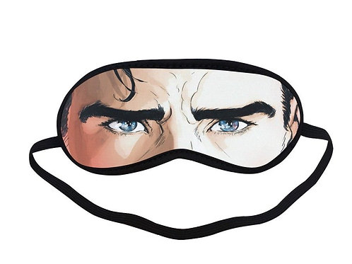 SPM508 Superman Eye Printed Sleeping Mask