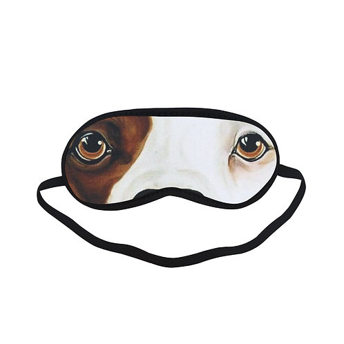 ATEM018 Amstaff dog Eye Printed Sleeping Mask
