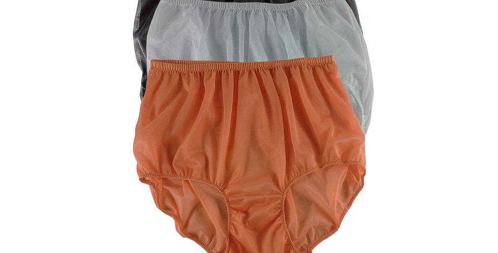 A102 Lots 3 pcs Wholesale Women New Panties Granny Briefs Nylon Knickers