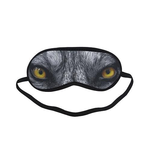 SPM038 Wild Wolf Eye Printed Sleeping Mask