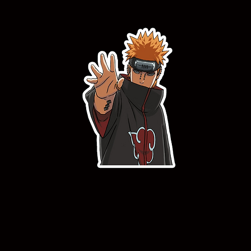 NOR226 Pain Yahiko Naruto Peeking anime sticker Car Decal Vinyl Window