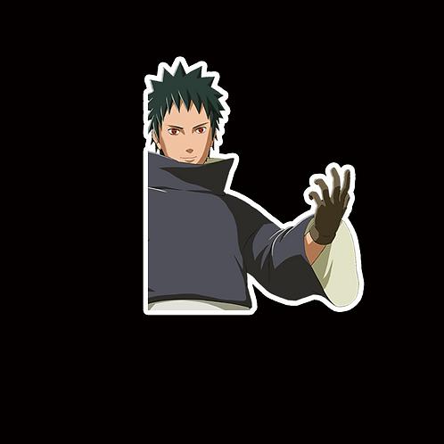 NOR200 Obito Uchiha Naruto Peeking anime sticker Car Decal Vinyl Window
