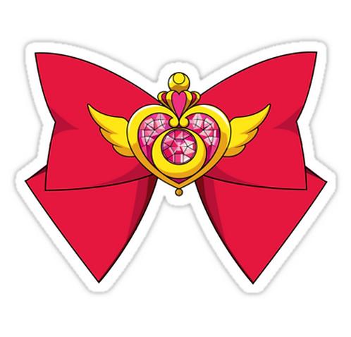 Deluxe Sailor Moon Crisis Moon  SSLM015 Cartoon Anime Car Window Decal Sticker