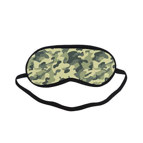 PTEM222 Soldier Pattern Eye Printed Sleeping Mask