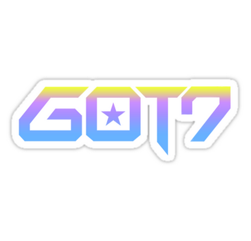 GOT7 Gradient logo 2.0 SSTK009 K-Pop Music Brand Car Window Decal Sticker