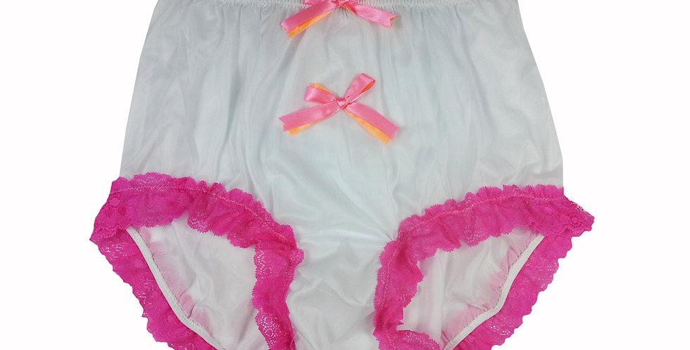 NNH10D143 Handmade Panties Lace Women Men Briefs Nylon Knickers