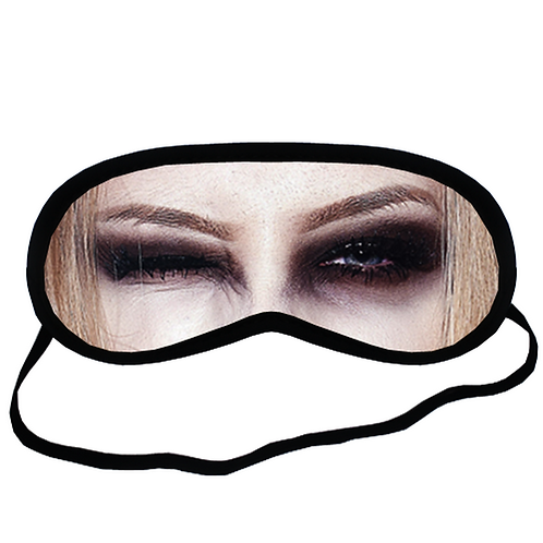 EYM320 Harley Quinn Eye Printed Sleeping Mask