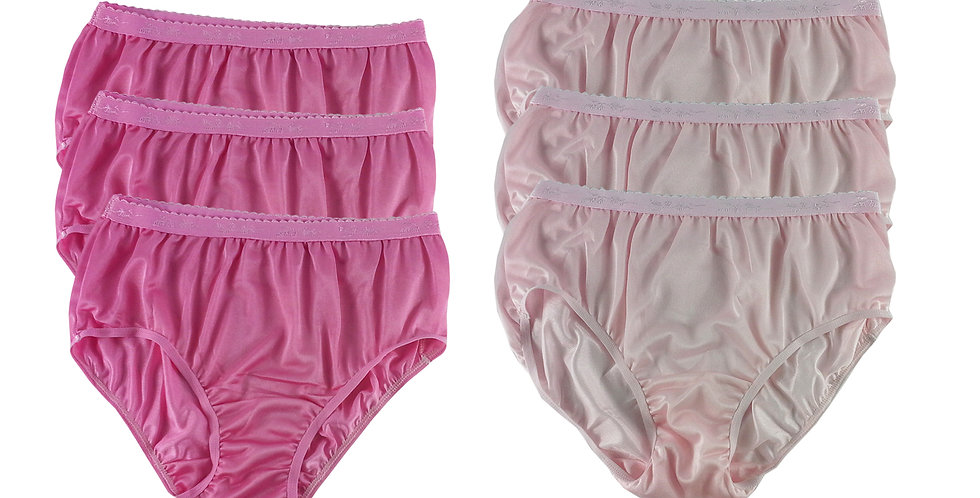 CKSL14 Lots 6 pcs Wholesale New Nylon Panties Women Undies Briefs