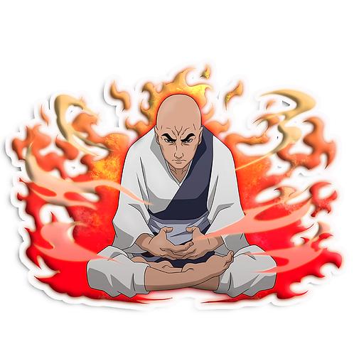 NRT19 Chiriku Ninja Monk Naruto anime stick