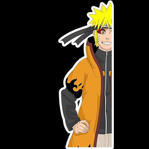 Peeker Anime Peeking Sticker Car Window Decal PK289 naruto sennin sage