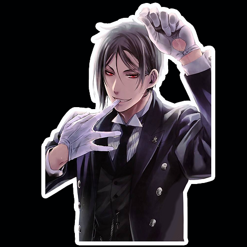Anime Stickers Die-cut Car motorcycle laptops phone Truck wall BB55 Black Butler