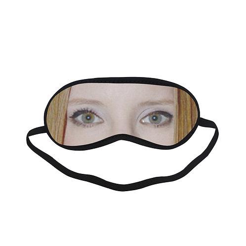 EOL174 Jessica Chastain Eye Printed Sleeping Mask