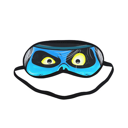 HTEM093 Hat Box Ghost Eye Printed Sleeping Mask
