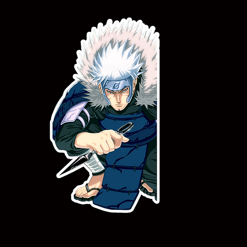 NOR92 Tobirama Senju Naruto Peeking anime sticker Car Decal Vinyl Window