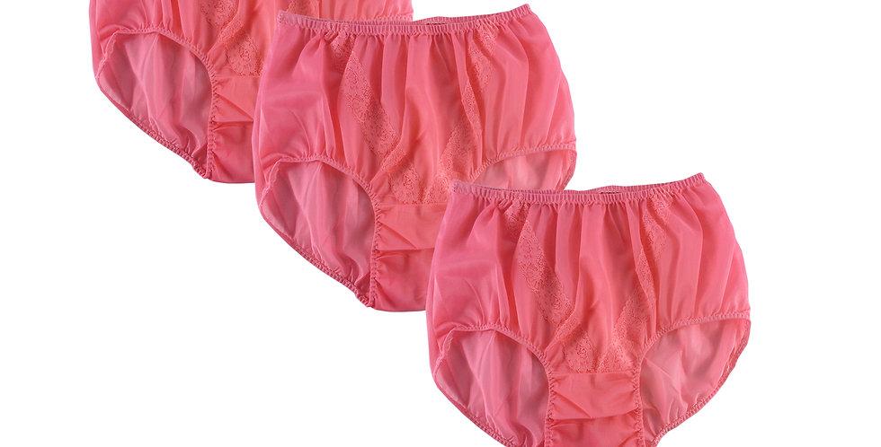 SST light pink Lots 6 pcs Wholesale New Nylon Panties Lace Women Men Briefs