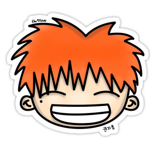 G-Dragon Fan Art 1.0 SSTK034 K-Pop Music Brand Car Window Decal Sticker