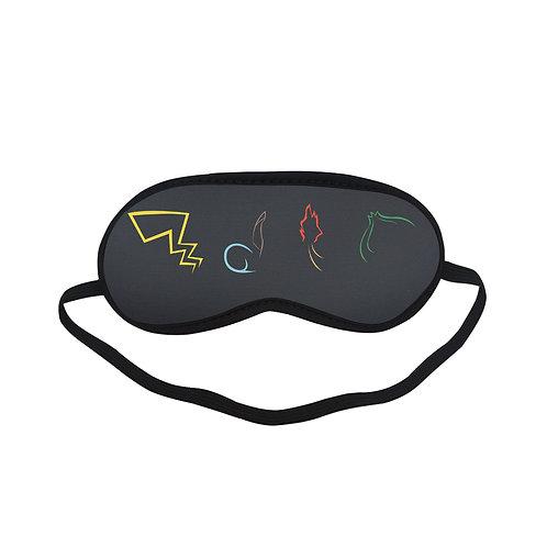 SPM205 Pokemon Sign Eye Printed Sleeping Mask